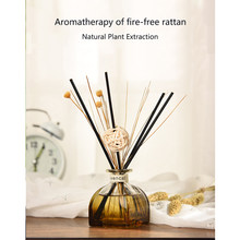 Decoration Aroma Diffuser Set Fragrance Purifying Air Scent Office Home Essential Oil No Fire Living Room Rattan Sticks Car(China)