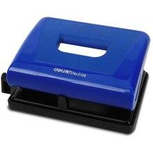 Deli 0105 Diplopore сверлильный станок Всего железа-большой размер голубовато-черный двойной цвет кожаный дырокол для ремня 04010036
