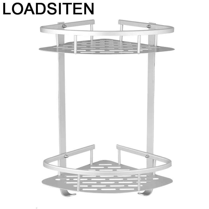 Dryer Holder Hoekplank Badkamer Banyo Aksesuarlari Estanteria Pared Lazienka Salle De Bain Shelves Shower Bathroom Wall Shelf