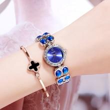 Stardust Luxury Women Watches Quartz Bracelet Steel Elegant Ladies Wristwatch Rhinestone Diamond Female Watch Relogio Feminino