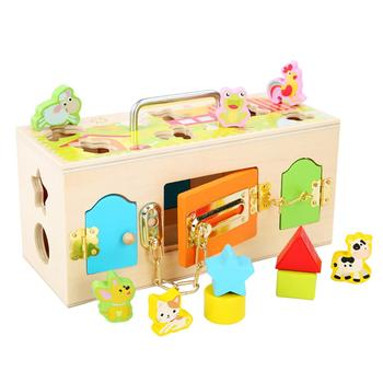 Latches Barn Toys Animal Shape Matching Game Toys Kids Toys for Early Education Kindergarten Teaching