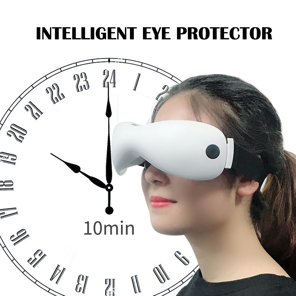 Rechargeable Green Light Eye Instrument Wireless Eye Restore Vision Eye Massager Child Myopia Treatment Massage Eye Glasses