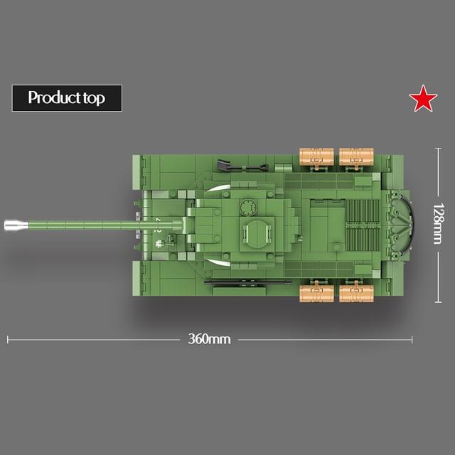 Фото горячая 1068 шт ww2 военная советская россия is 2m тяжелый танк