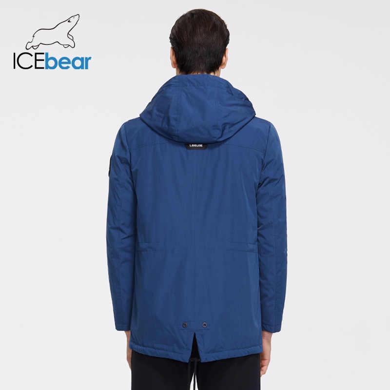 ICEbear 2020 חדש גברים של מעיל באיכות גברים של מעיל זכר סלעית מעיל מזדמן גברים בגדי MWC20823I