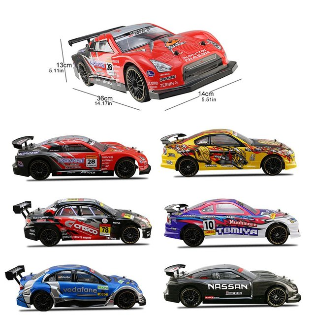 1:14 2.4G High Speed Waterproof RC Racing Car Buggy Truck Off-road Toys Remote Control Vehicle Racing Model 6