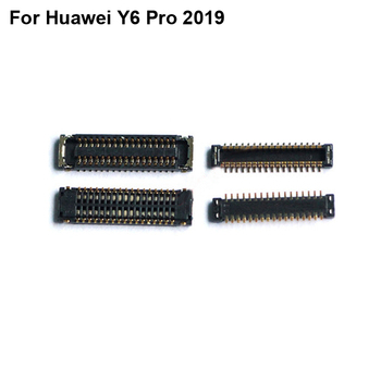 5pcs FPC connector For Huawei Y6 Pro 2019 LCD display screen on Flex cable on mainboard motherboard For Huawei Y 6 Pro 2019 image