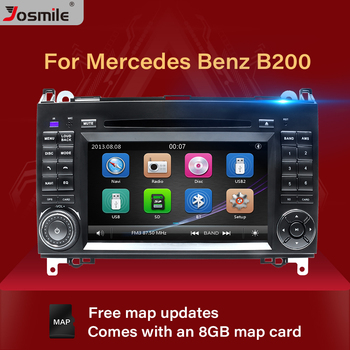 2 Din Car DVD Player For Mercedes Sprinter Vito W639 Viano B Class W169 W245 W209 W906 Benz B200 Radio Multimedia GPS Navigation 1698206710 for mercedes benz a b class w169 2004 2012 w245 2005 2011 front left electric power master window switch