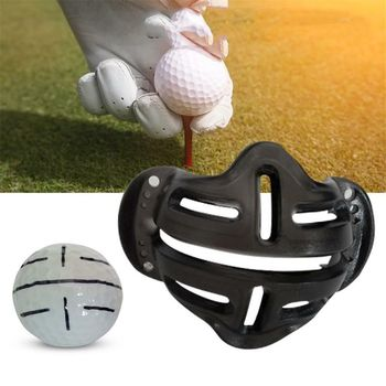 Golf Ball Alignment Line Marker New Design Identification Tool Putt Positioning Ball Golf Marking Shell Golf Training Aids image