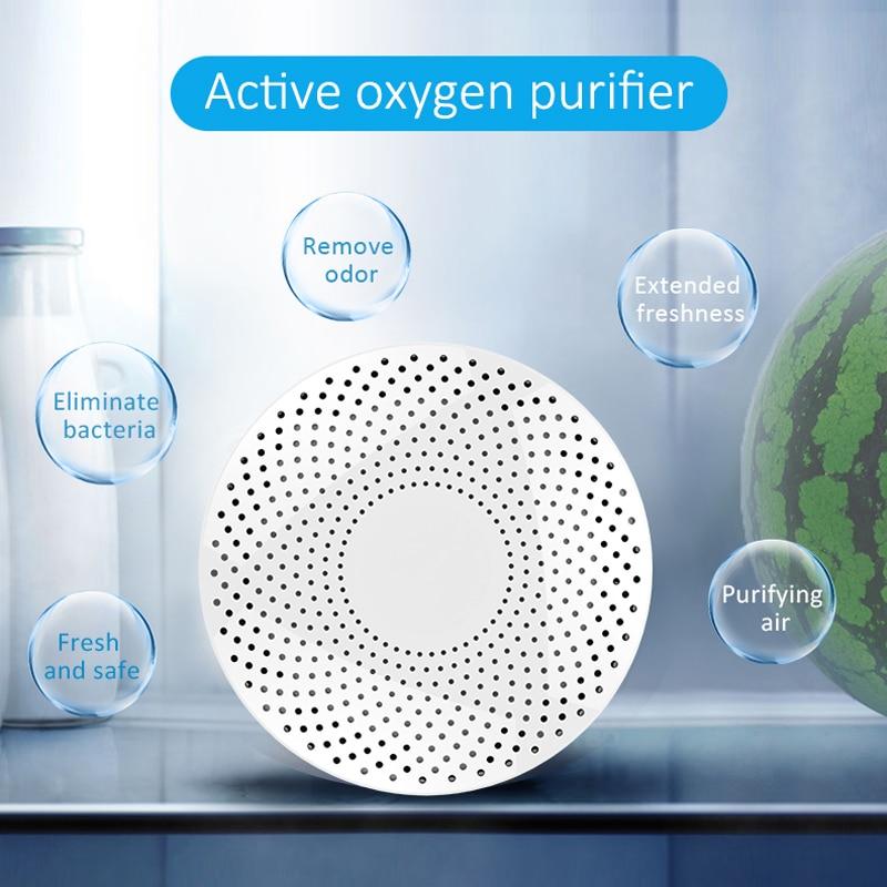 Mini Purifier Refrigerator Deodorizer Portable Ozone Air Purifier Fresh Deodorizer 500mah Battery Small Air Purifier