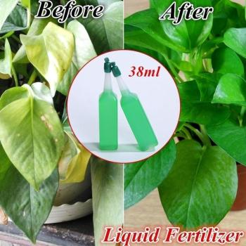 1pc Hydroponic Plant Nutrient Solution Fertilizer Rich Potted Foliar Fertilizer Green Seed Bamboo Flower Concentrated Ferti O3L1 image