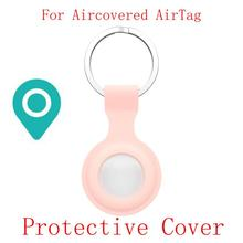 Dropship Multi Colours Protective Cover Gps Tracker Case Location Tracker Silicone Case With Buckle For AirTags Tracker Dog Toys