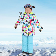 Ski-Suit Pant Snowboard Jacket Girls Waterproof Winter Children Brand New for High-Quality