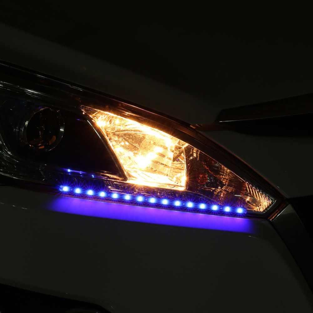 8 шт. 30 см 15 светодиодов самоклеющиеся гибкие Гибкие водонепроницаемые DC 12 В блок питания прочный автомобиль грузовик свет полосы