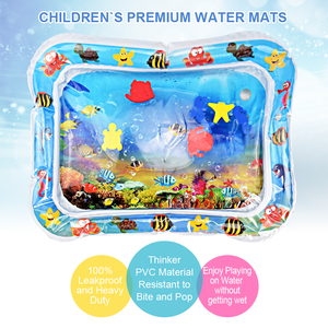 Image 2 - Baby Inflatable Water Play Mat Infant Summer Beach Water Mat Toddler Fun Activity Play Toys for Sensory Stimulation Motor Skills