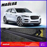 Acessórios do carro de alta qualidade liga alumínio automático scaling pedal elétrico passo lateral placa running para F PACE 2016|Barras e estribos| |  -