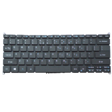 Laptop Keyboard For ACER For Swift SF714-51T Black US United States Edition