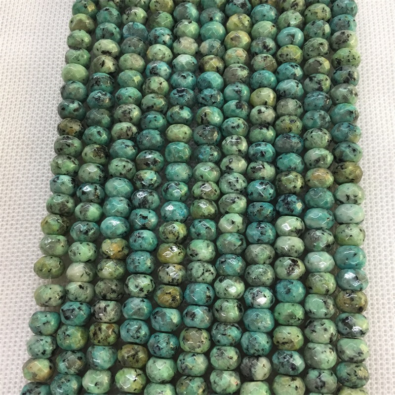 20pcs 8MM 10MM 12MM 14MM 16MM 18MM 20MM Turquoise Gemstone Heishi Spacer Beads