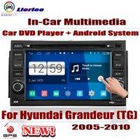 For Hyundai Grandeur (TG) 2005~2010 Car Android GPS Navigation DVD Player Radio Stereo AMP BT USB SD AUX HD Screen Multimedia