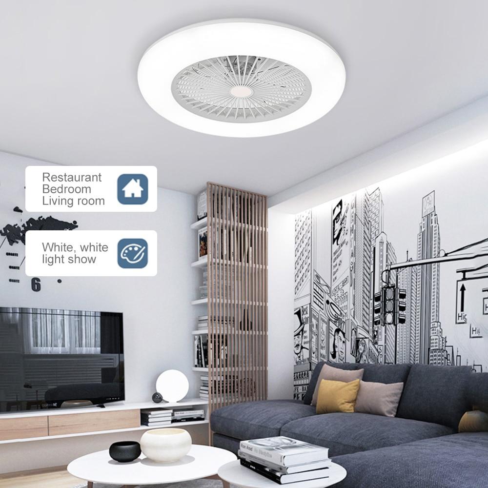 Dimmable Led Ceiling Fan Lampu Adjustable Kecepatan Angin Dengan Remote Control 36w Led Modern Lampu Langit Langit Untuk Kamar Tidur Living Kamar Lampu Langit Langit Aliexpress