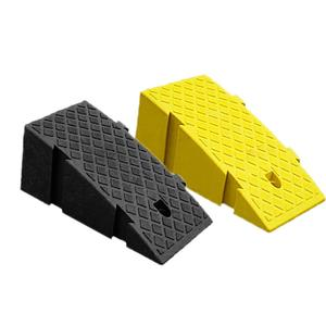 Portable Lightweight Plastic Curb Ramps Heavy Duty Plastic Threshold Ramp Kit Set For Car Bike Motorcycle With 16CM Height(China)