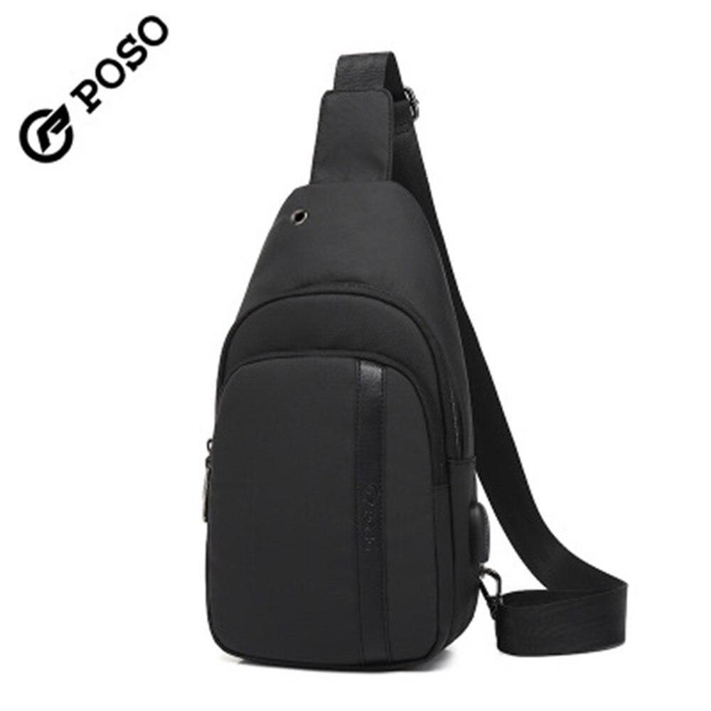 Unisex Messenger Bag Newspaper Texture English Shoulder Chest Cross Body Backpack Bag