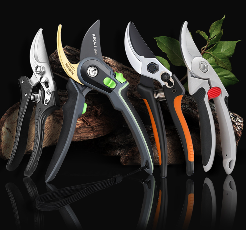 AIRAJ Gardening Scissor for Pruning and Shearing of Branches of Fruit Trees and Plants 7