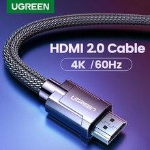 Ugreen HDMI-kompatibel Kabel Video Kabel 4K/60Hz für Xiaomi Mi Box High-Speed v 2,0 für PS4 TV BOX 0,5 m-10m HDMI-kompatibel Kabel