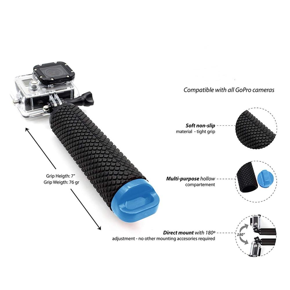Water Floating Hand Grip Handle Mount Float accessories for Go Pro Gopro Hero 8 7 6 5 4 Xiaomi Yi 4K SJ4000 SJ5000 Action Camera 3