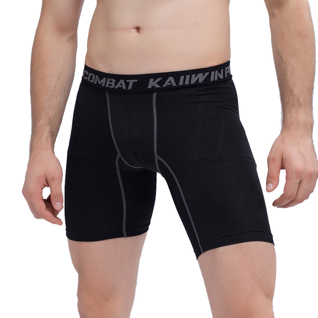 Pants Shorts Compression-Underwear Briefs Men Tight Athletic Breathable Men's High-Quality