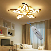 Ceiling Chandelier Bedroom-Light Modern Remote-Dimming-Lamp Restaurant LED 240V AC Acrylic