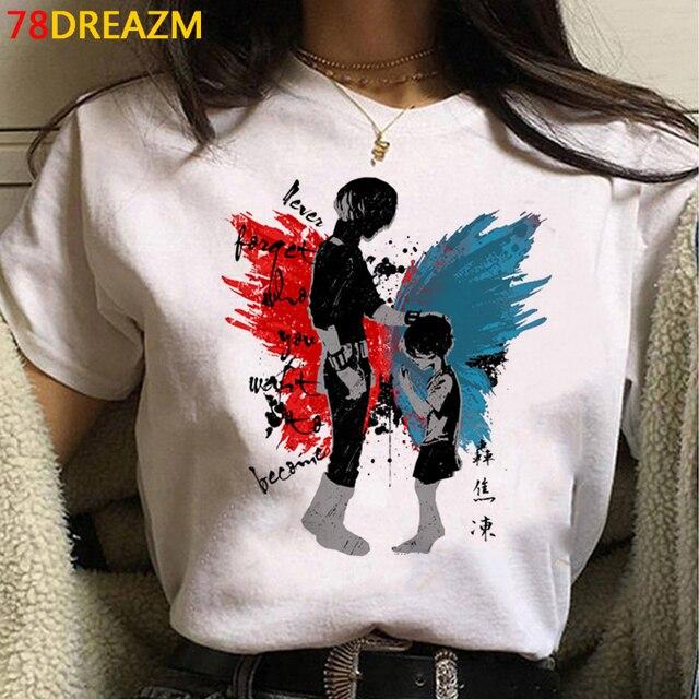 My Hero Academia top tees t shirt women plus size harajuku kawaii tumblr t-shirt tshirt  vintage 4