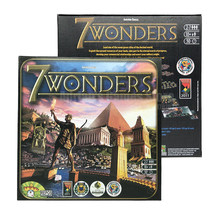 7 Wonders Juego de Mesa para 2-7 Jugadores Juegos de Fiesta