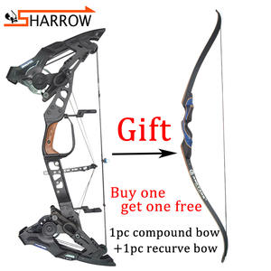 Bow Archery KRESIS Steel-Ball Hunting-Bow Compound 32inch for Labor-Saving-Ratio Dual-Purpose