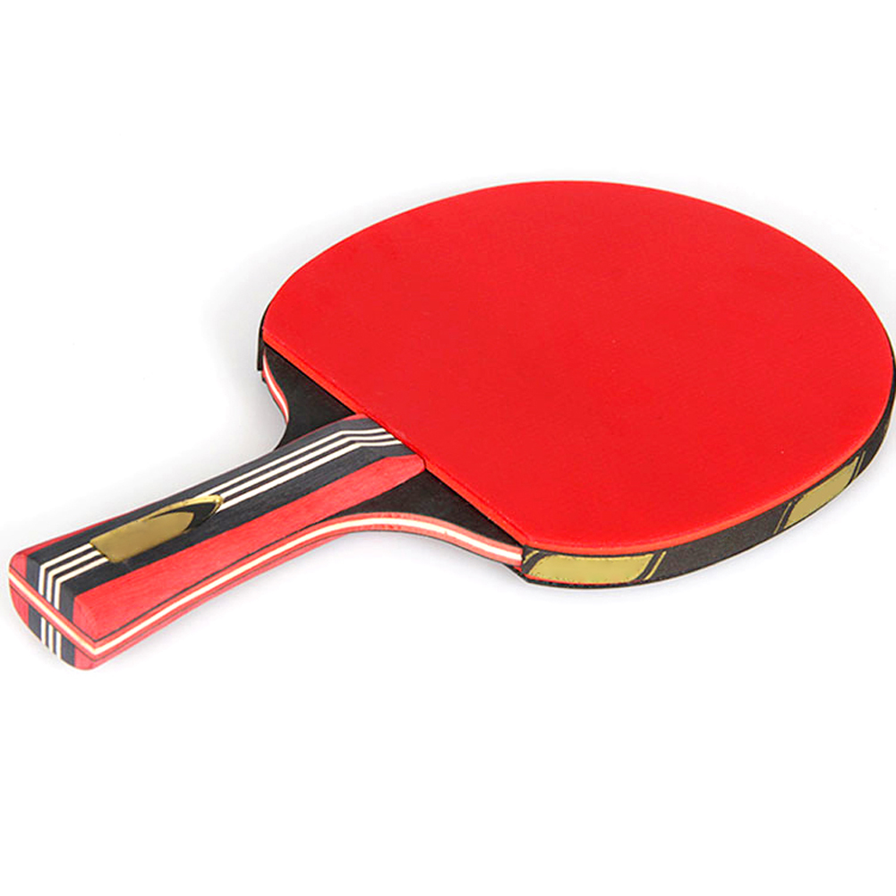 6-Star Table Tennis Racket Ping Pong Paddle Set With 6 Ping Pong Balls Training Racquet Kit Portable Case Bag