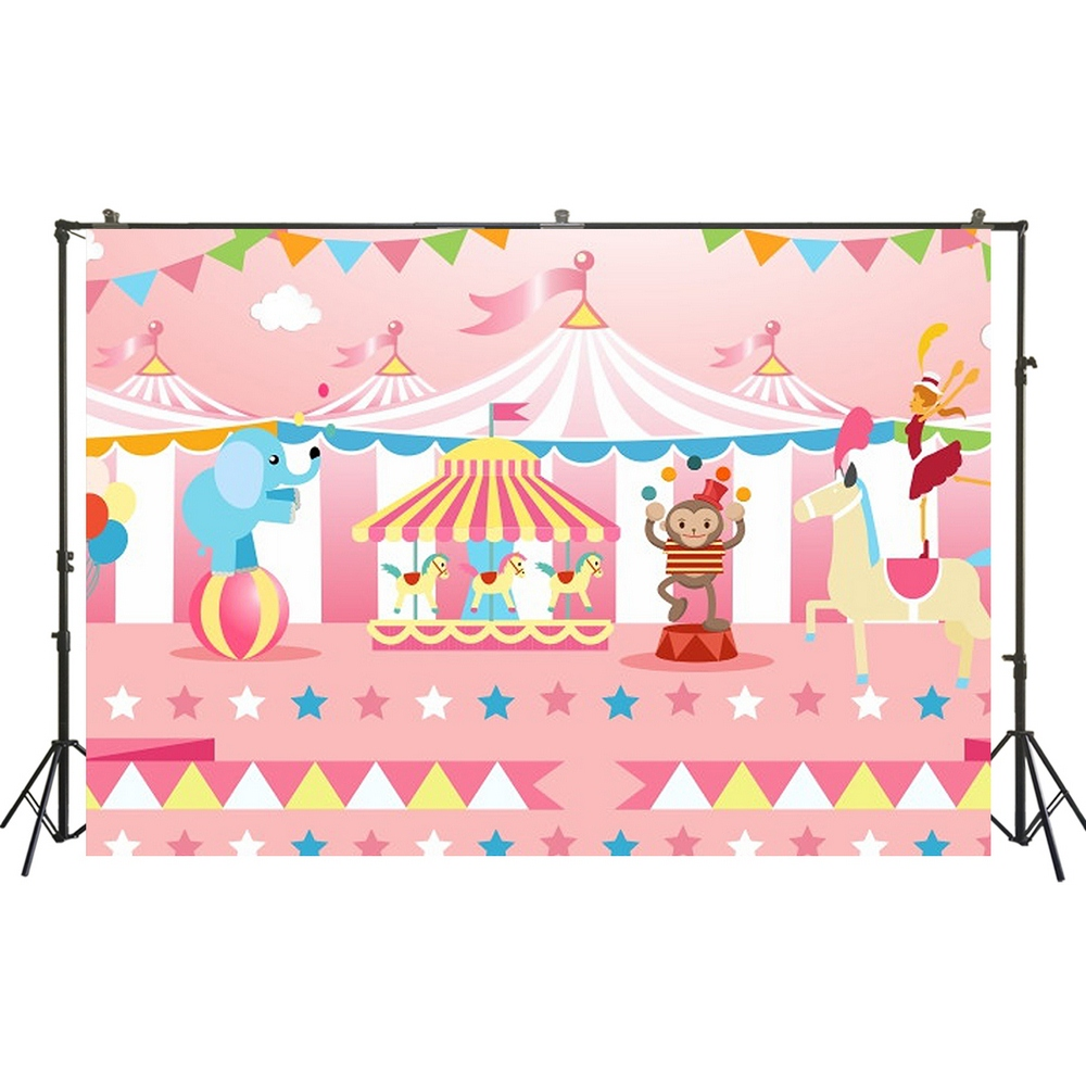 Night Stars Baby Shower Step Repeat Photo Backdrop