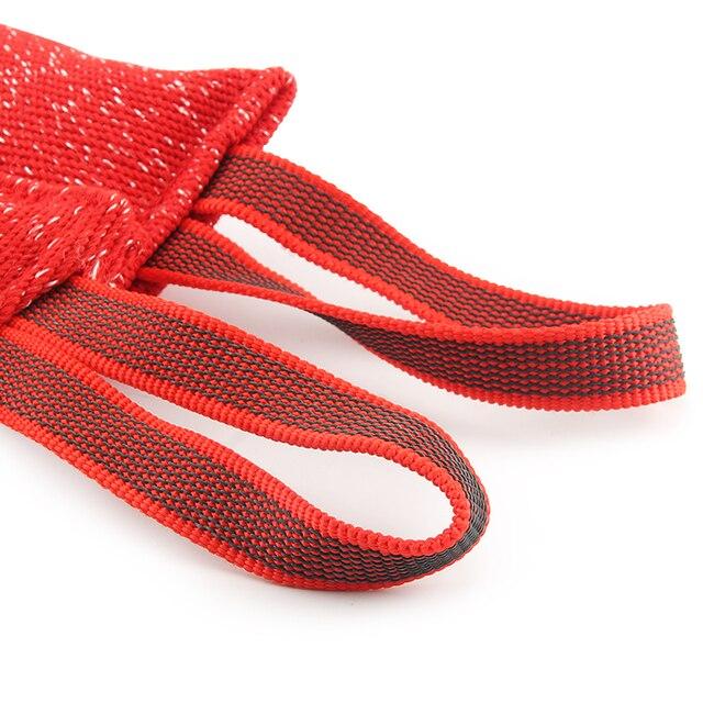 Kırmızı dayanıklı köpek eğitim Bite sopa römorkör köpek oyuncak Bite yastık köpek interaktif Pet oyuncak köpek çiğneme oyuncakları