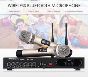 Image 4 - MU 6S Karaoke Microfono Bluetooth Microfono Per Lezioni di Computer Studio Microfono Microfono Senza Fili Microfono Palmare