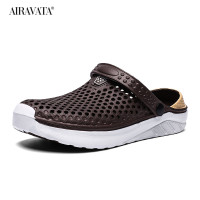 coffee-Unisex Summer Beach Sandals Slipper Flat Anti-Slip