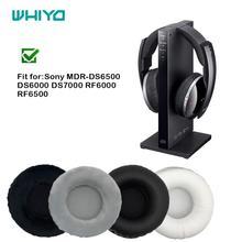 WHIYO wymienne nauszniki dla Sony MDR DS6500 MDR DS6000 MDR DS7000 MDR RF6000 MDR RF6500 słuchawki poduszka