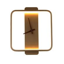 Neue design moderne Wand Lampe LED wanduhr lampe Nordic einzigartige elegante schlafzimmer wohnzimmer leuchte beleuchtung
