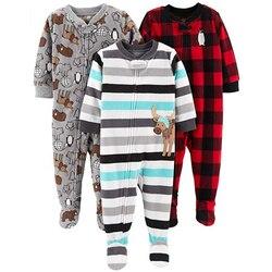 ملابس أطفال للأولاد والبنات من الصوف بتصميم سيامي مناسبة للتسلق مع بجامات تدفئة للقدم حقيبة ثوب فضفاض للأطفال بتصميم على شكل سالوبيت