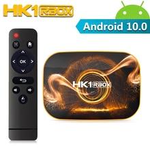 HK1 RBOX R1 Smart Android 10,0 TV BOX 4GB RAM 32GB 64GB 128GB ROM RK3318 2,4G 5G wifi Bluetooth 4K HD Set Top Box 2GB 16GB
