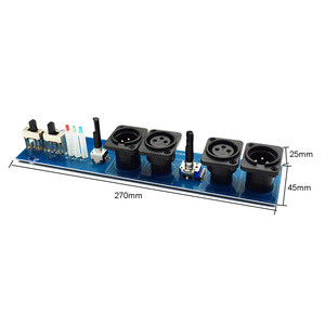 Image 3 - Lusya Subwoofer preamplifier board Adjustable frequency  phase stereo channel Preamp D4 012