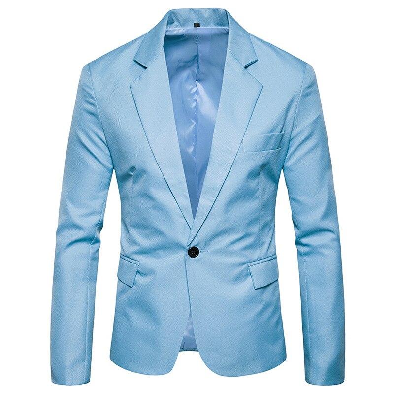 Men/'s Fashion Lapel One Button Suit Jacket Party Wedding Striped Slim Fit Jacket