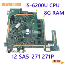 Laptop I5-6200u 12-Sa5-271 Main-Board Acer NBGDQ11004 NEWRECORD for Switch Alpha 271P