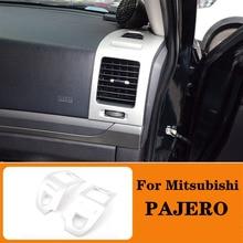 Zentrale Dash Air Zustand AC Vent Control Rahmen Abdeckung Trim Für Mitsubishi PAJERO 2007  2012 2013 2014 2015 2016 2017 2018 2019