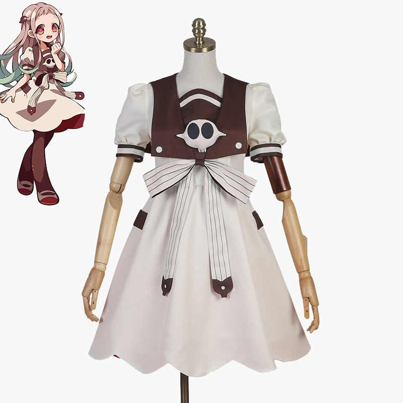 Jibaku Shounen Hanako Kun Nene Yashiro Cosplay Costume Dress Uniform Girls