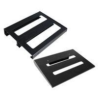 Portable Guitar Effect Board Alumininum Alloy Pedalboard Instrument Accessory