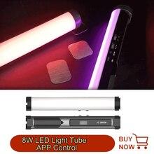 YC Onion Handheld RGB Energy Tube 8W  LED Light Tube APP Control Magnetic Photography Light Stick Soft light