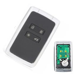 4 button Car Smart Remote Key 434mhz PCF7945M HITAG AES 4A Chip For Renault Megane 4 keyless key for Talisman Espace5